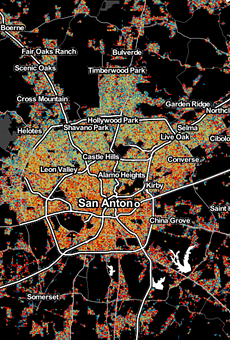 Which San Antonio Neighborhoods Have The Worst Obesity Problems? This Map Shows You