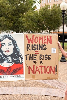 All the powerful signs carried during the Women's March in San Antonio this weekend