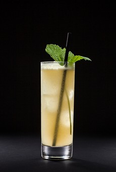 Get used to seeing this guy around. The Beso de Agave is the 2016 signature drink for the San Antonio Cocktail Conference.