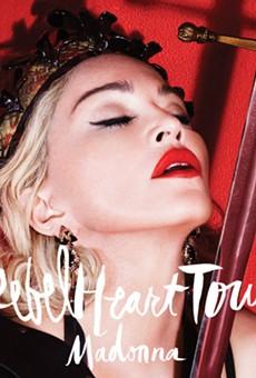 Madonna will perform in San Antonio on January 10, 2015.