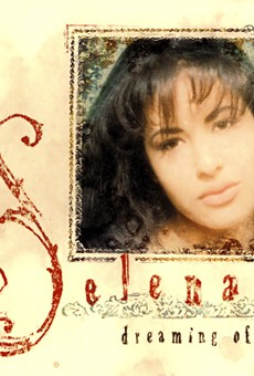 The cover of Selena's last album 1995's Dreaming of You