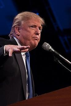 Donald Trump speaks English.