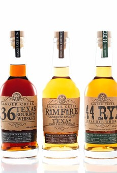 The .36 and Rimfire received Best in Class honors during this weekend's Whiskies of the World Expo in Austin.