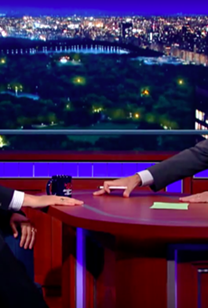 It wasn't exactly Frost-Nixon, but things still got a little testy between Ted Cruz and Stephen Colbert on The Late Show.