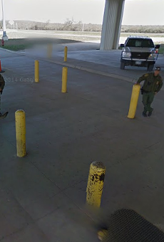 The Sierra Blanca Border Patrol checkpoint