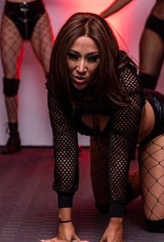 Sexy moments from La Santa Luna's Red Room Halloween Edition at Ivy Hall