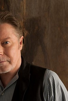 Don Henley, looking righteously indignant.