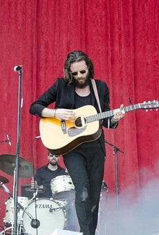 Father John Misty on day two of ACL's second weekend