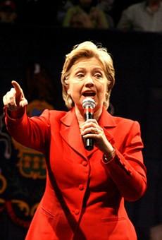 Hillary Clinton will hold a rally in San Antonio on Thursday.