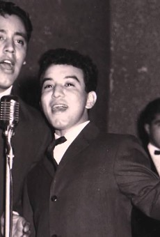 The Royal Jesters providing that West Side brown sound - a syncretization of doo wop, r&b, soul, rock 'n' roll and Motown, complete with horns and organ