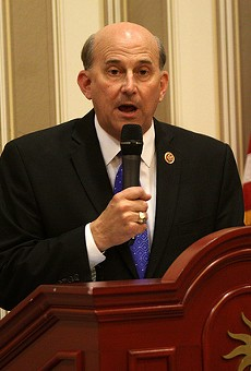 Rep. Louie Gohmert had some profound thoughts about gay people and desert islands.