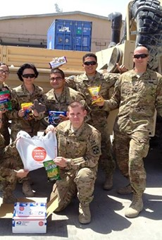 Online shipping means Texans in the military can get H-E-B products all over the world.