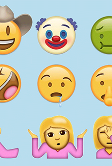 Some of the possible additions to the Unicode emoji character set include bacon, a cowboy and one terrifying clown.
