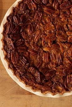 Liberty Bar's pecan pie.