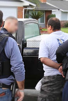 The SAPD only calls ICE if a suspect has an active federal immigration warrant.