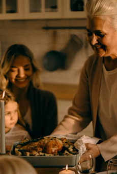 The CDC says you can still celebrate Thanksgiving, but be prepared to take the turkey outside (2)