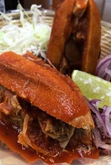 Lunchtime Steals: Ro-Ho Pork & Bread's Torta Ahogada