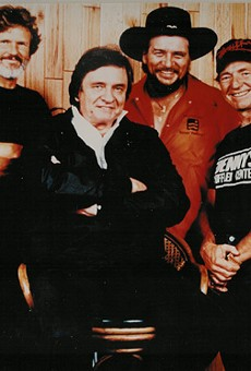 Kris Kristofferson, Johnny Cash, Waylon Jennings and Willie Nelson
