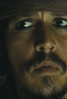 Johnny Depp returns as Capt. Jack Sparrow for the fifth episode of the Pirate tale