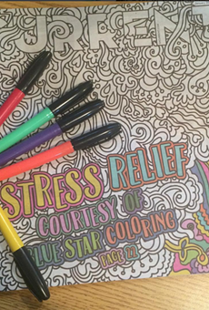 Get to coloring and win prizes