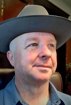Glitter Political: Outgoing County Commissioner Kevin Wolff tips his hat after 15 years of public service