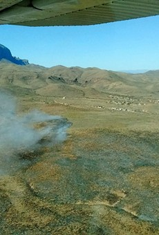 Big Bend's 'Powerline Fire' Burns Approximately 2,000 Acres