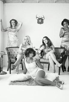 The women of Stars and Garters Burlesqu