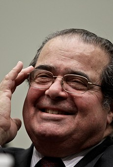 Supreme Court Justice Antonin Scalia, pictured in 2010, died in West Texas this weekend.