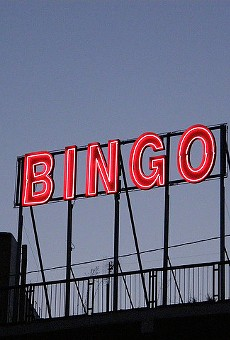 The neon glow of Bingo glory calls you.