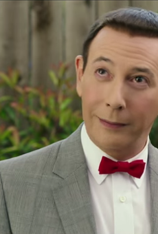Paul Reubens as Pee-wee Herman in Pee-wee's Big Holiday.