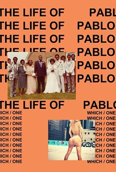 The cover for West's The Life of Pablo