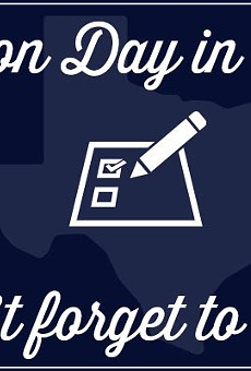 Today is Super Tuesday, So Go Vote, San Antonio