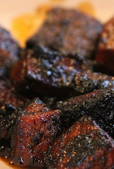 Mmmmmmmmmm ... burnt ends.