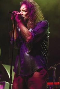 Robert Plant, Folk Phoenix, Plays San Antonio