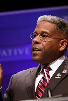 Firebrand former congressman Allen West recently unseated James Dickey as head of the Texas GOP.