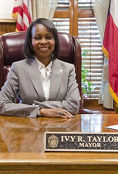 Mayor Ivy R. Taylor will deliver her speech at noon.