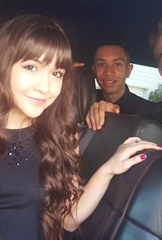 Kidz Bop kids Ashlynn, Sela, Grant and Matt, on their way to the Nickelodeon's Kids Choice Awards.