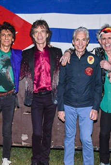 The Stones played a free show in the Cuban capital on Friday.