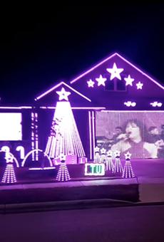 Selena fans can take a trip down nostalgia lane via a New Braunfels Christmas light show