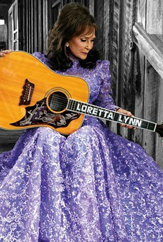 Loretta Lynn, whose first record in over a decade, Full Circle, was released this year.