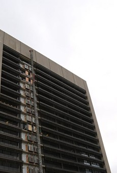 The City of San Antonio is renovating the former Frost Tower at 100 W. Houston St.