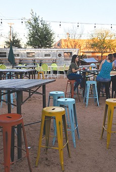 New East Side Watering Hole Defined by Patio and Pavilion