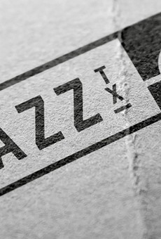 The logo for Jazz, Texas at the Historic Pearl Brewery was designed by local creative agency Hilmy Productions.