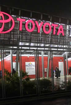 Another twist in the quest to bring Major League Soccer to Toyota Field.