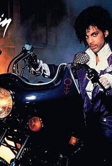 Prince in Purple Rain (1984).