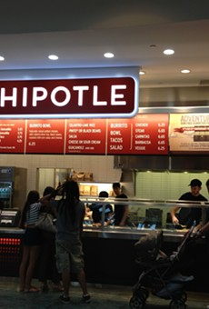 Be drawn to the gleaming siren song that is future burritos.