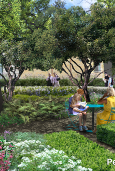 Peggy Mays Garden Conceptual Rendering