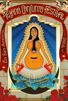 Official 35 Annual Tejano Conjunto Festival poster