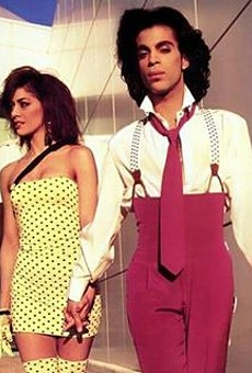 Sheila E. with her one-time fiancé, the late Prince.