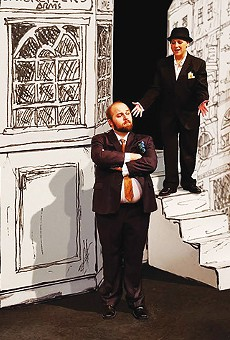 One Man, Two Guvnors and Cross-dressing in Frothy Farce